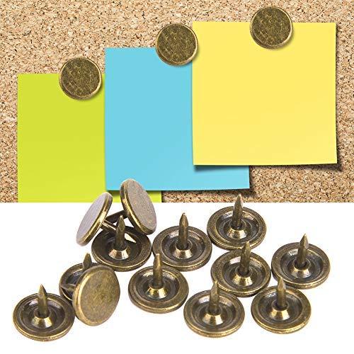 alfileres para clavos de muebles 50 piezas de tachuelas de tapicer/ía engrosadas molduras decorativas de cabeza de clavo para muebles 16 * 20mm