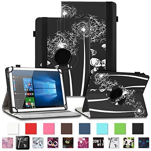 NAUC Telekom Puls Tablet Schutzhülle Tasche Tablettasche Hülle mit Standfunktion 360° drehbar hochwertige Kunst-Leder Verarbeitung Cover viele Motive Universal Tablethülle Case, Farben:Motiv 9