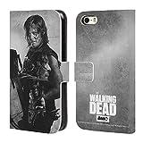 Officiel AMC The Walking Dead Daryl Exposition Double Coque en Cuir à Portefeuille...