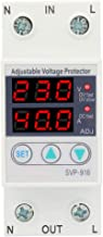 Liukouu Intelligent Single Phase Adjustable Over-Voltage Under-Voltage Current Protector 230VAC(63A)