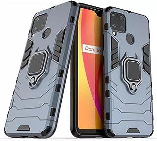 حامل حلقة حامل سيارة مغناطيسي مضاد للصدمات غطاء حافظة للهاتف الخلوي Realme C15