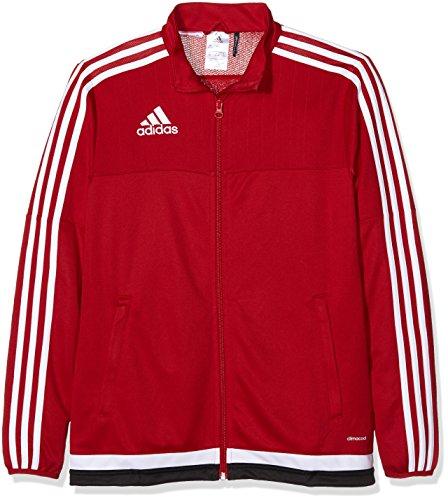 adidas Kinder Jacke/Anoraks Tiro15 training jk y, Power Red/White/Black, 164