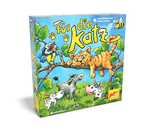 Zoch 601105158 Für die Katz, das lustige Kinderspiel, bei dem die Kinder gemeinsam die Katzen aus dem Wald lotsen, ab 4 Jahren