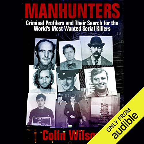Manhunters audiobook cover art