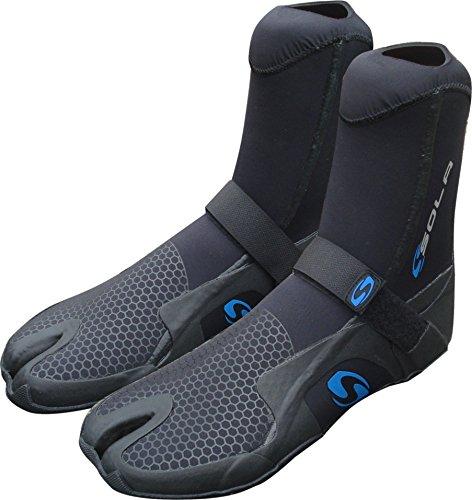 Sola Unisex's System 5mm Split Toe Boot, Black/Blue, 44/10