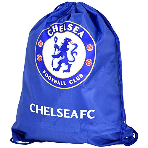 Chelsea FC - Sac de sport avec cordon de serrage (Taille unique) (Bleu/Blanc)