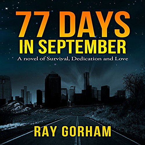 77 Days in September audiobook cover art
