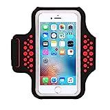 Haissky Fascia Da Braccio Sportiva sweatproof corsa fascia da braccio per iPhone 8/7/6/5/5...