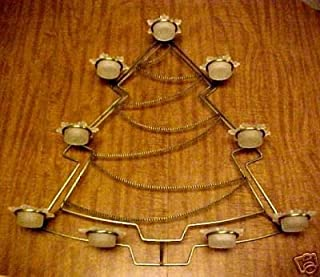 Partylite Christmas - Holiday Christmas Tree Wall Sconce Candle Holder Decoration