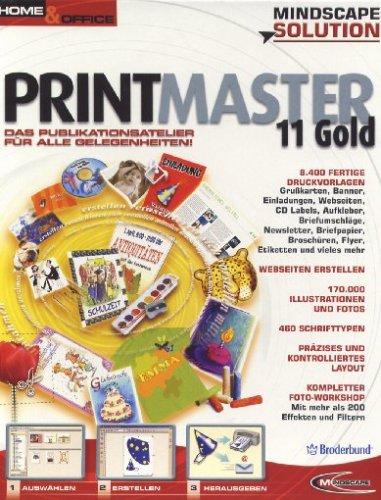 PrintMaster 11.0 Gold