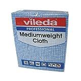 Vileda 106399Medium Gewicht Tuch, blau (10Stück)