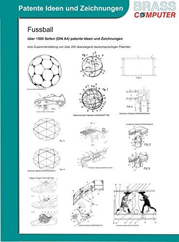 Fussball, über 1500 Seiten (DIN A4) patente Ideen und Zeichnungen