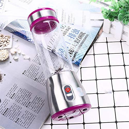 lizubing Portable Juicer Mini Juicer Kleine Entsafter@Lila