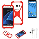 K-S-Trade® Mobile Phone Bumper + Earphones For Vernee M6