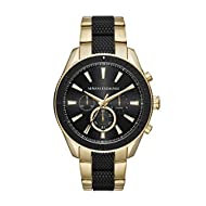 Case Thickness: 14 mm; Case Size: 46 mm x 52 mm; Band Width: 22 mm; Inner Circumference: 200 +/- 5 mm Band Material: Stainless Steel; Water Resistance: 10 ATM Packed ina Armani Exchange Gift Box The design of the Armani Exchange boxes is always diff...