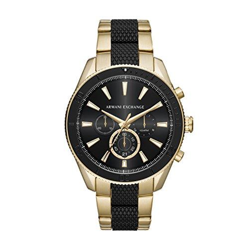 Armani Exchange Reloj Analógico para Hombre de Cuarzo con Correa en Acero Inoxidable AX1814