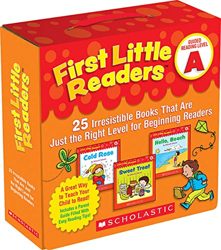 Compare Textbook Prices for First Little Readers Parent Pack: Guided Reading Level A: 25 Irresistible Books That Are Just the Right Level for Beginning Readers Illustrated Edition ISBN 9780545231497 by Schecter, Deborah