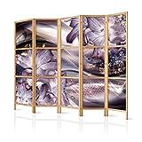 murando - Biombo XXL Flores 225x171 cm 5 Paneles Lienzo de Tejido no Tejido Tela...
