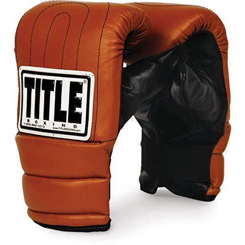 Title Boxing TITLE Old School Heavy Bag Gloves, Large