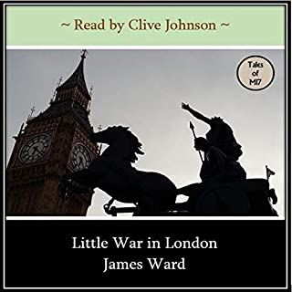 Little War in London  audiobook cover art