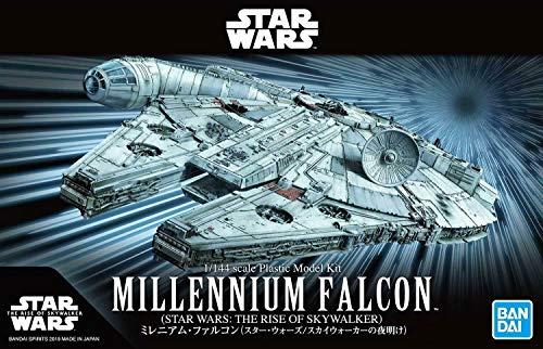 BANDAI Hobby Star Wars 1/144 Millennium Falcon Rise of Skywalker Plastic Model Maqueta