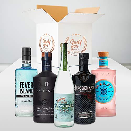 Gin Tasting Set Mittwoch | 5 exklusive Gins mit 5 passenden Tonics empfohlen vom Experten