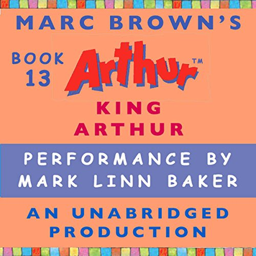 King Arthur audiobook cover art