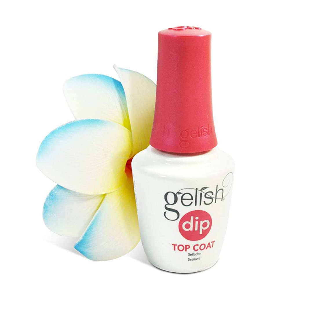 手がかりほとんどの場合花瓶Harmony Gelish - Dip Powder Treatments - Step 4: Top Coat - 0.5oz/15ml