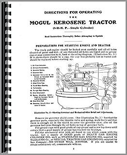 International Harvester Mogul 8-16 Tractor Operators Manual