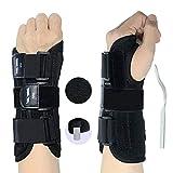 RHINOSPORT Handgelenk Bandagen Wrist Wraps Handgelenkbandage für Fitness, Bodybuilding, Kraftsport & Crossfit Frauen und Männer