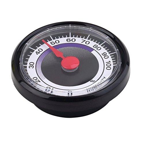 Leoboone 1 STÜCK Mini Tragbare Genaue Langlebige Analoge Hygrometer Luftfeuchtigkeitsmesser Mini Power-Free FÜR Indoor Outdoor Heimgebrauch