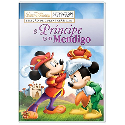 DVD Disney - O Príncipe e o Mendigo