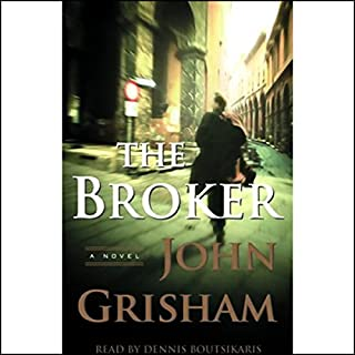 The Broker audiobook cover art
