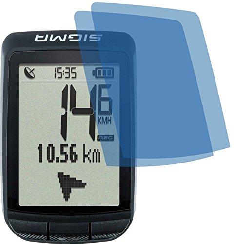 4ProTec I 2X ANTIREFLEX matt Schutzfolie für Sigma Pure GPS Displayschutzfolie Bildschirmschutzfolie Schutzhülle Displayschutz Displayfolie Folie