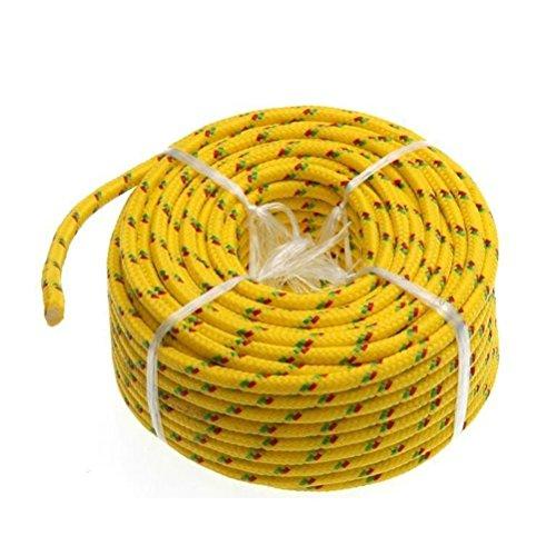 Pixnor Corde polypropylène Corde tressée avec cœur pour utilisation en extérieur Tente Étendoir 4 mm * 20 m