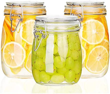 Totots Sealed Jar Glass Bargain sale Food P Gifts Lead-free Bottle Buckle