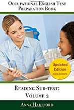 Occupational English Test Preparation Book: Reading Sub-test: Volume 2