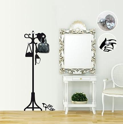 Appendiabiti Adesivi.Amazon It Appendiabiti Adesivi E Murali Da Parete Pitture E
