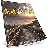 Tagebuch kalender: One Line A Day • Ca. A4-Format, Notizseiten & Zitate für jeden Monat • Kalenderbuch, Tagesplaner, Terminkalender • ArtNr. 16 Entspannend • Vintage Softcover