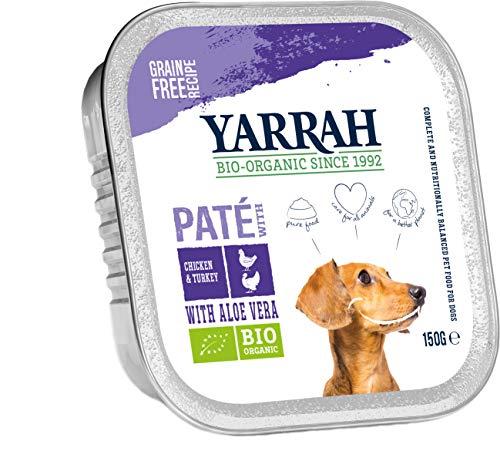 Yarrah Bio Pâté au Dinde Aloe Vera pour Chien 150 g