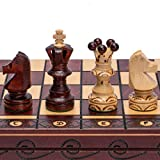 Husaria European International Chess Wooden Game Set - Ambassador - 55 Centimeters