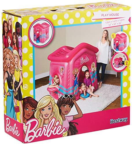 Maison aire de jeu gonflable Barbie Malibu Playhouse 150 x 135 h142