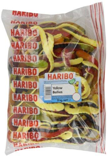 Haribo Yellow Bellies Snacks 3 Kg