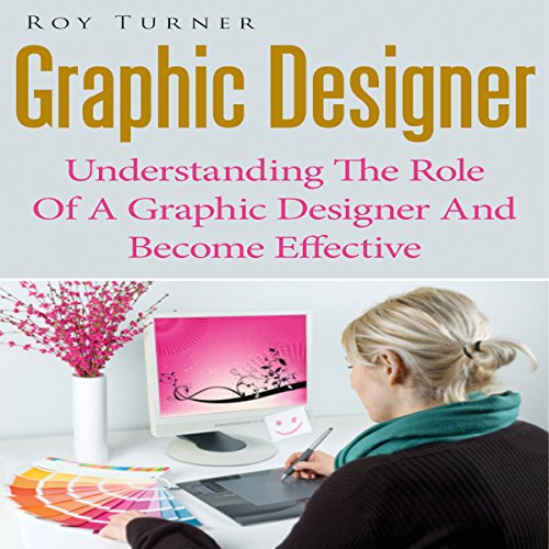 Graphic Designer audiobook cover art