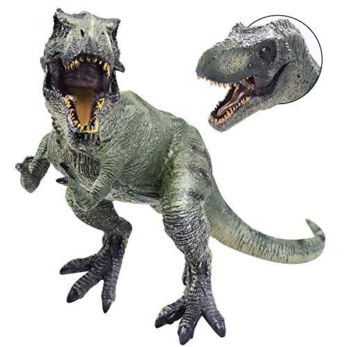 YIJIAOYUN Grande da 12 Pollici Figura di Dinosauro assortita in plastica Tyrannosaurus Rex Giocattolo Modello educativo Realistico Figurina Animale per Bambini