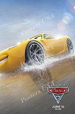 Disney Pixar Cars 3 Glossy Finish Movie Poster Fil425 Poster