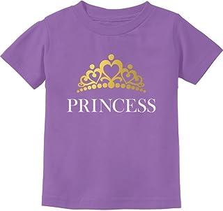 Tstars - Princess Crown Gift for Daughter - Little Girl Toddler Kids T-Shirt