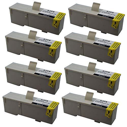 KLDink 8Schwarz 60ml SJIC8K C33S020407 Kompatible Tintenpatronen fur TM J7000 TM J7500TM J7500p TM J7500 SeriesTM J 9000