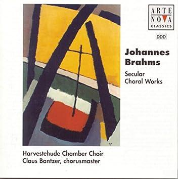Brahms: Secular Choral Work/Das weltliche Chorwerk