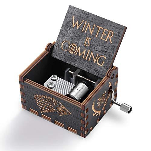 Carillon Game of Thrones Music Box Winter is Coming Carillon in Legno